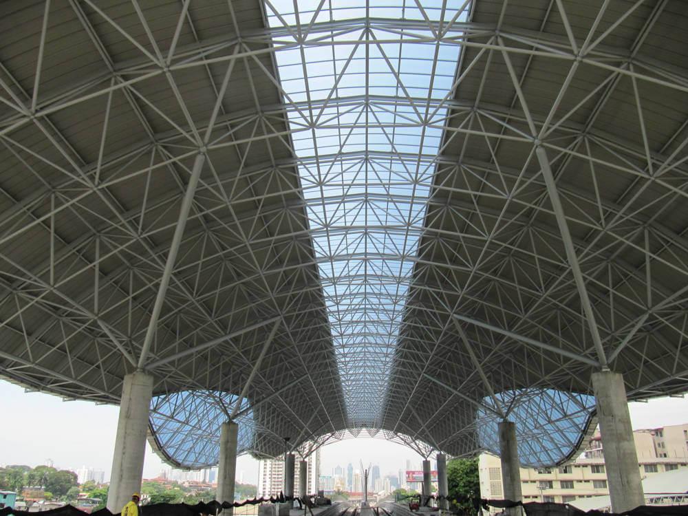 سازه فضایی ایستگاه مترو پاناما